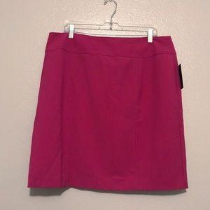 Worthington Plus Size 18 Fuchsia Skirt